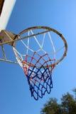 一个老篮球档板 免版税库存图片
