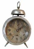 一个老被中断的闹钟 免版税库存照片