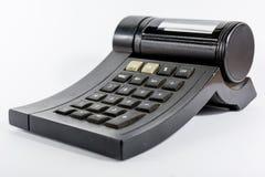 一个老计算器 免版税库存图片