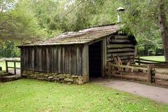 一个老铁匠大厦在弗吉尼亚 免版税库存照片
