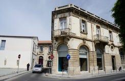 一个老镇利马索尔,塞浦路斯海岛,欧洲的街道 库存照片