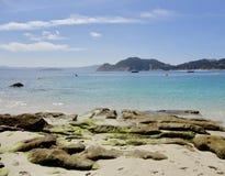 一个自然大西洋天堂的美好的风景 库存图片