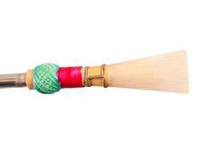 一个芦苇木管乐器 库存图片