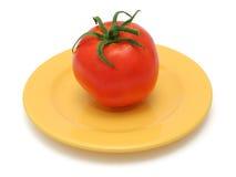 一个蕃茄 免版税库存照片
