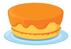 一个蛋糕 免版税库存图片