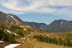 一个被开采的风景在北加拿大 免版税图库摄影