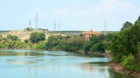 一个被扣押的湖在越南 库存照片