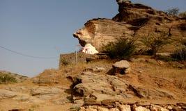 一个被放弃的寺庙 库存照片