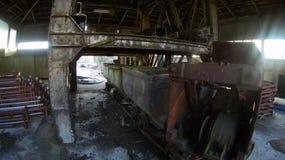 一个被放弃的煤矿 免版税图库摄影