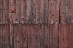 一个被风化的谷仓的边。 免版税库存照片