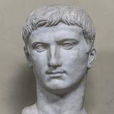 一个诺贝尔罗马人的雕象,罗马,意大利 免版税库存图片
