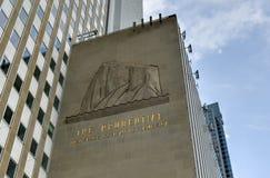 一个谨慎广场-芝加哥 免版税库存图片
