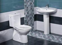 一个豪华卫生间的细节 图库摄影