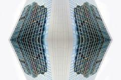 一个超现代大厦的门面 库存图片