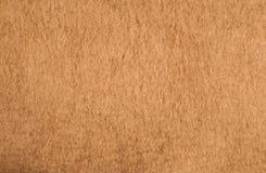 一个轻的骆驼头发纹理背景 免版税库存照片