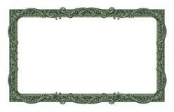 金钱边界 免版税库存照片