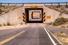 一个运输路线隧道 免版税图库摄影