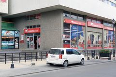 一个邮局在蓬塔阿雷纳斯,智利 免版税库存图片