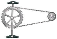 一个钝齿轮 向量例证