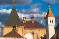 一个铜大厦的圆顶 库存照片