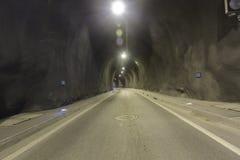 一个隧道 免版税库存照片