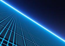 一个霓虹网格作用背景 图库摄影