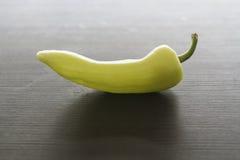 一个青椒的边 库存图片