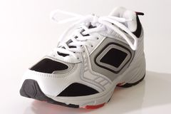 一个鞋子体育运动 库存图片