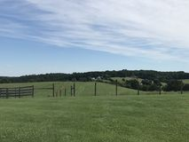 一个风景看法在弗吉尼亚 库存照片