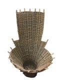 一个风格化被编织的篮子 免版税库存图片