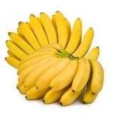 一个香蕉的图象在白色背景的 免版税库存照片