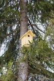 一个鸟舍 免版税库存图片