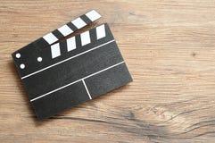 一个黑白电影委员会 库存照片