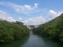 一个水坝 免版税库存照片