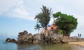 一个晴天的角落的Phu Quoc海岛 库存照片