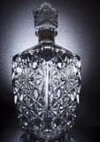 一个水晶花瓶 库存照片