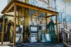 一个柴油加油站在佛罗里达 库存照片
