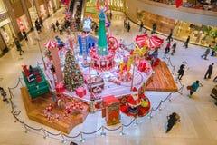 一个购物中心在香港 库存图片