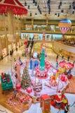 一个购物中心在香港 免版税库存照片