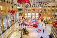 一个购物中心在香港 图库摄影