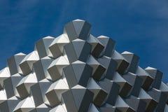 一个购物中心的现代屋顶在德累斯顿 库存图片