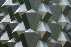 一个购物中心的现代屋顶在德累斯顿 免版税库存照片