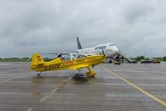 一个轻的体育航空器Akaflieg Munchen Mu30 Schlacro 免版税库存图片