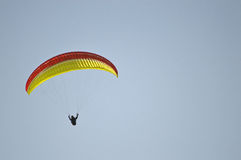 一个滑翔伞 库存图片