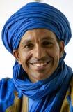 一个巴巴里人人在Rissani在摩洛哥 库存图片