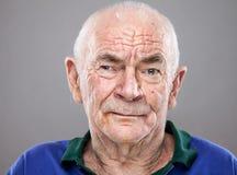 一个年长人的Portriat 免版税库存图片