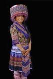 一个年轻H'Mong夫人 库存图片