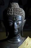 一个budha雕象在老挝 免版税库存照片