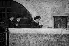 一个Hasidic犹太人 图库摄影
