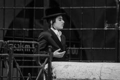 一个Hasidic犹太人 免版税库存图片